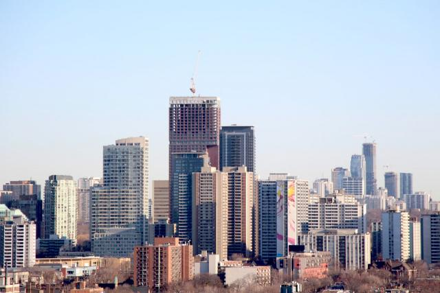 Photo of the Day, Toronto, skyline, St. James Town, Yonge and Eglinton
