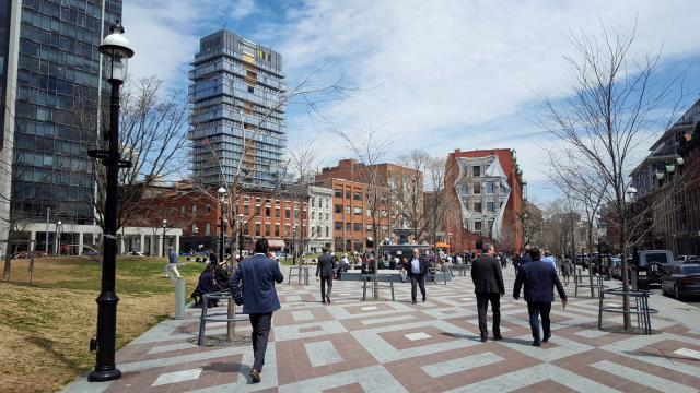 Photo of the Day, Toronto, Berczy Park, Sixty Colborne
