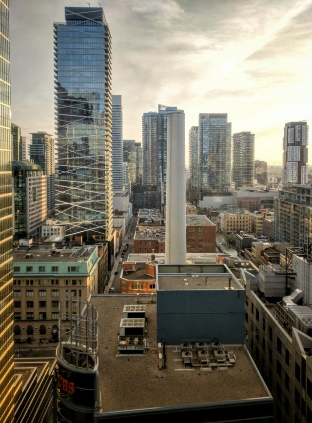 Photo of the Day, Toronto, skyline, Entertainment District, condos