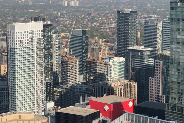 King Blue Condos, Toronto, designed by IBI Group for Greenland Canada