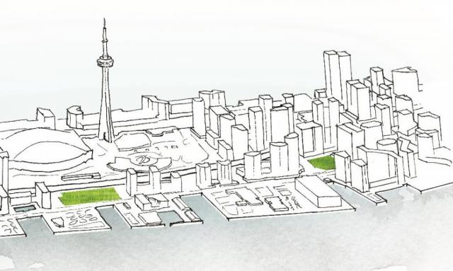 Waterfront Toronto, York, Rees, Parks, design competition