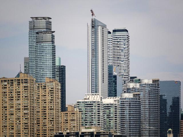 Photo of the Day, Toronto, skyline, South Core, Ten York