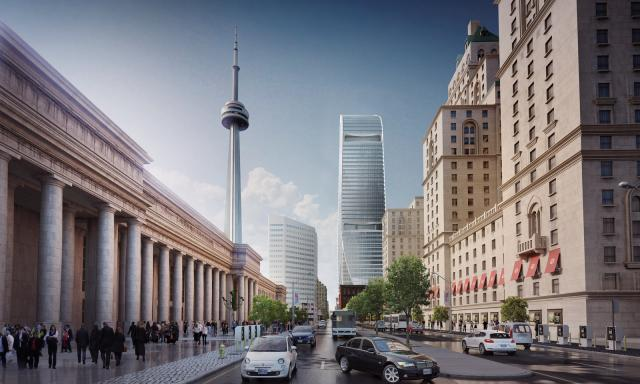 160 Front Street West, Cadillac Fairview, AS + GG Architecture, Toronto