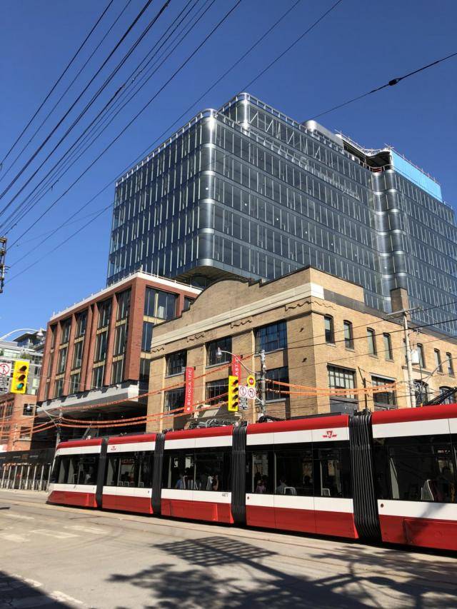 King Portland Centre, Kingly Condos, Allied Properties REIT, RioCan, Toronto