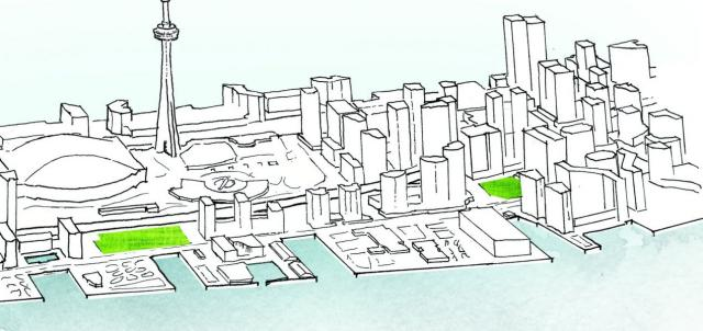 ork Street and Rees Street Park Design Competition, Waterfront Toronto,
