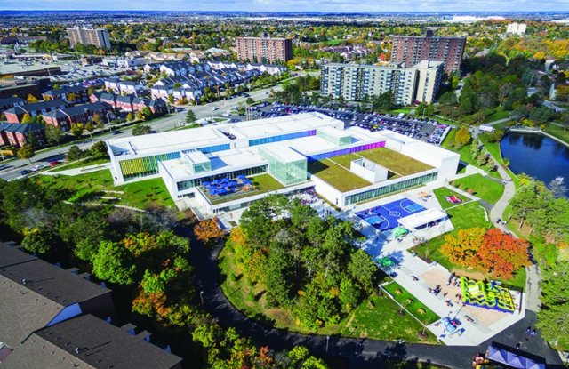 Meadowvale Community Centre, Perkins + Will, Mississauga Urban Design Awards