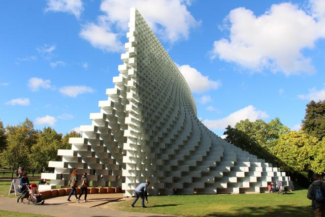 Serpentine Pavilion 2016 in Kensington Gardens, by Fred Romero on Flickr