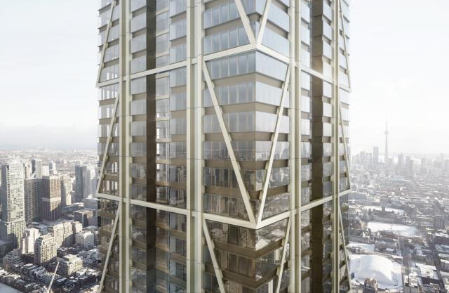 The One, Mizrahi, Foster + Partners, Core Architects, Toronto