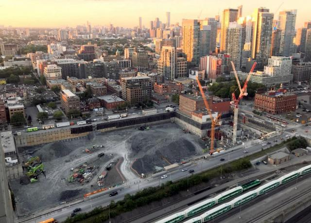 The Well Toronto, Allied REIT, RioCan, image by UT Forum contributor agoaflaneur