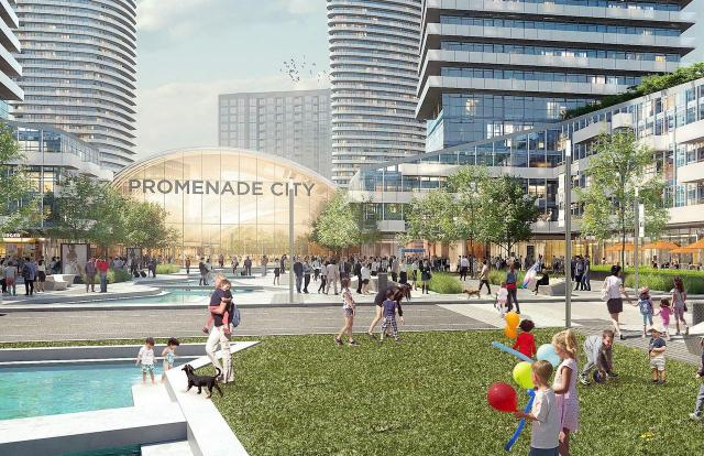 Promenade Mall revitalization, Liberty Development, WZMH Architects, Vaughan