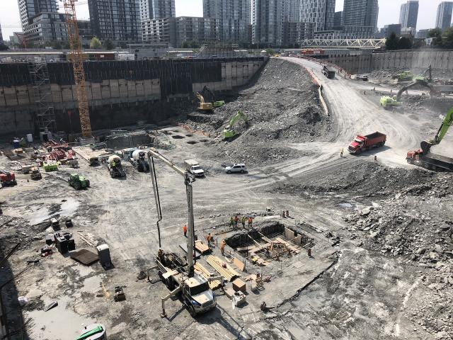The Well, Toronto, Diamond Corp, RioCan, Allied, Tridel, Woodbourne