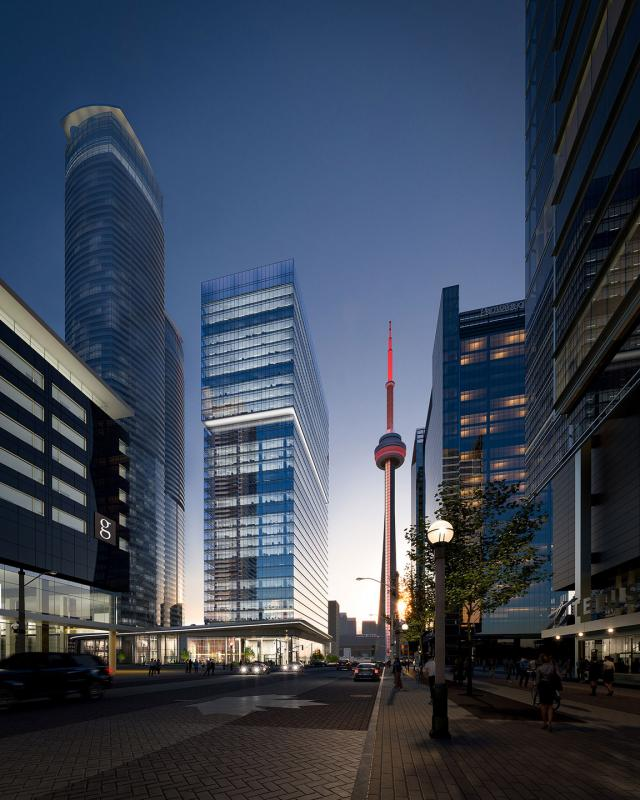16 York, Cadillac Fairview, Toronto, architectsAlliance, B+H Architects