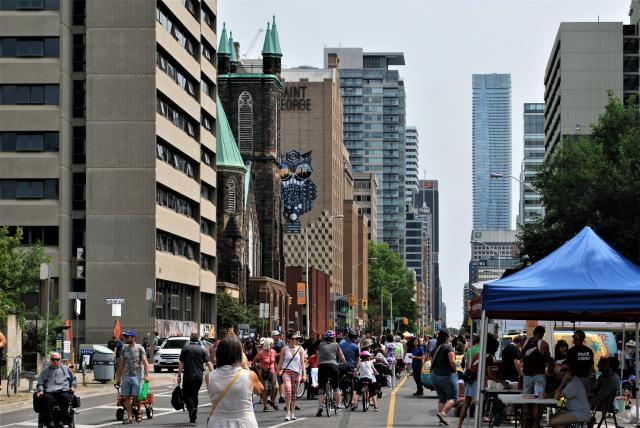 Open Streets TO, City of Toronto