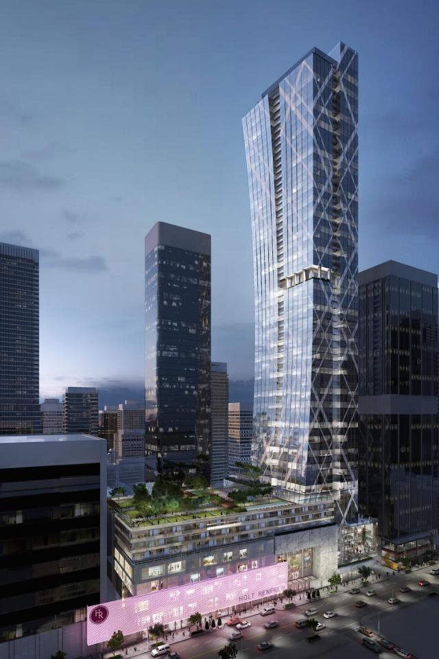 Morguard's approved but unbuilt 2015 plan for 50 Bloor West, Toronto
