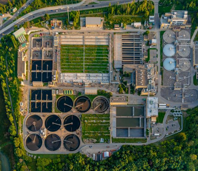 Photo of the Day, Toronto, Humber Treatment Plant