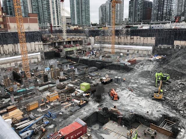 The Well, RioCan REIT, Allied Properties REIT, Diamond Corp, Tridel