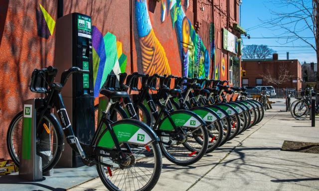 A Bike Share Toronto station