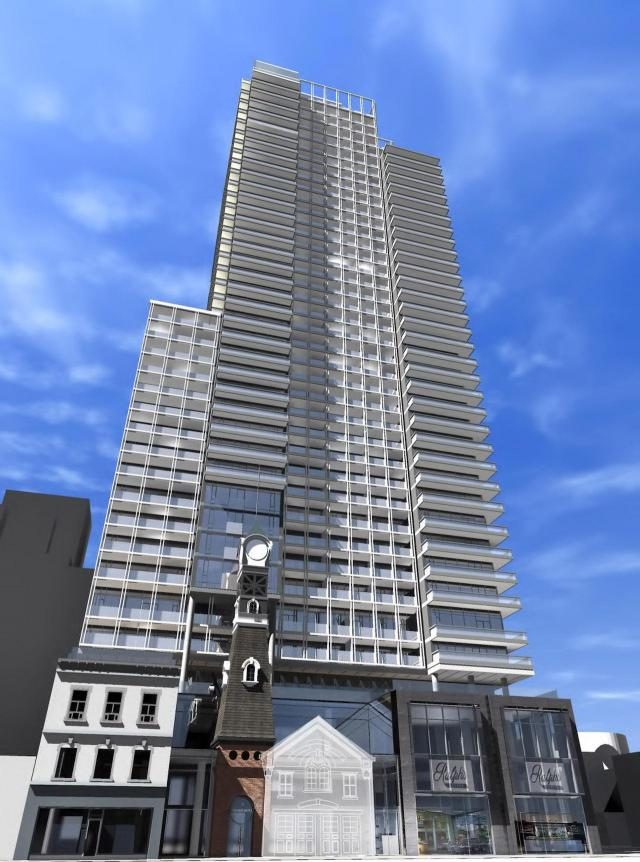 Halo Residences on Yonge, Toronto, designed by architectsAlliance for Cresford