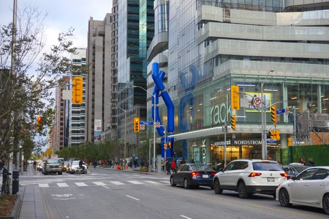 One Bloor East, Great Gulf, Ron Arad, Safe Hands, public art, Toronto