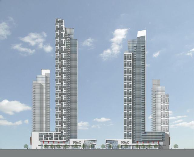 Vaughan Metropolitan Centre, Block 3, Quadreal, IBI Group