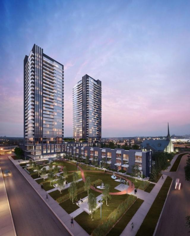 Sonic and SuperSonic Condos, Lindvest, IBI Group, Toronto
