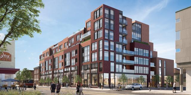 875 Queen East, Harhay Developments, OFFICEArchitecture, Toronto