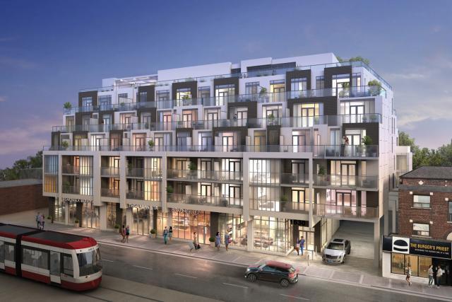 West Beach Condos on Queen, Toronto, Marlin Spring Developments