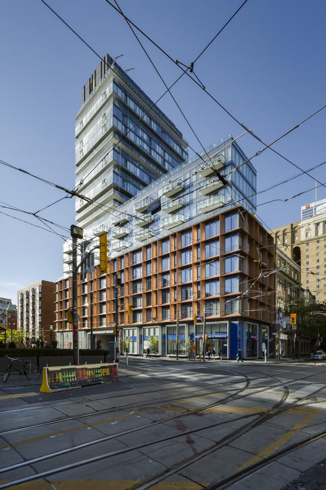 Sixty Colborne, Freed, Carttera, architectsAlliance, Toronto