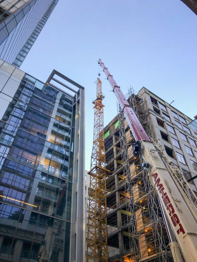 85 Richmond Street West, Oxford Properties Group, Toronto, WZMH, +VG