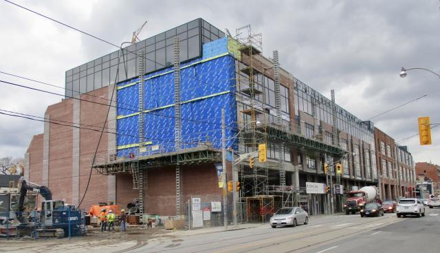 Bathurst College Centre, RioCan REIT, Turner Fleischer Architects, Toronto
