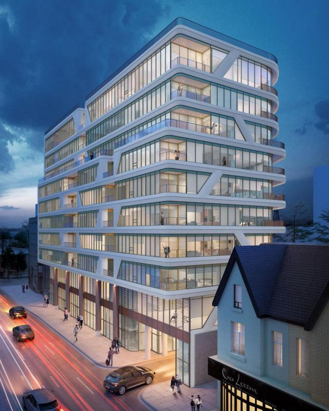 Avenue 151, Dash Developments, Teeple Architects, Giovanni A. Tassone, Toronto