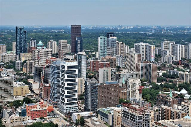 Downtown Toronto's contemporary housing stock is mix of 20th century rentals and