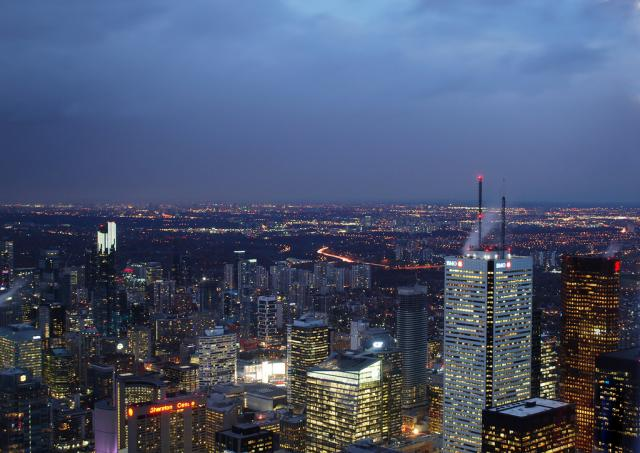 Photo of the Day, Toronto, skyline, CN Tower