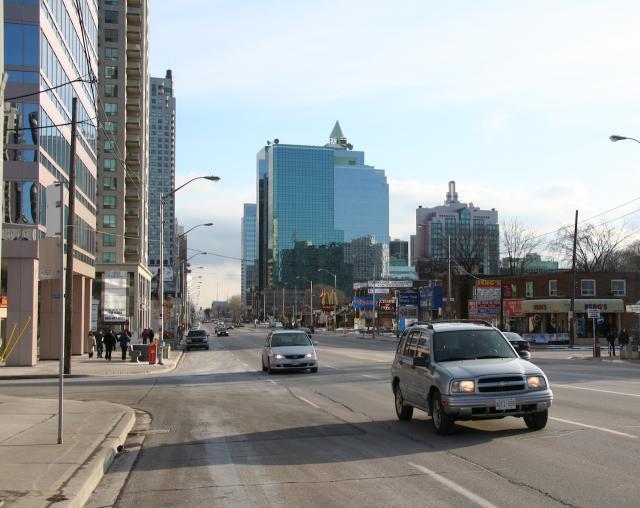 Throwback Thursday, Yonge Street, North York, Toronto
