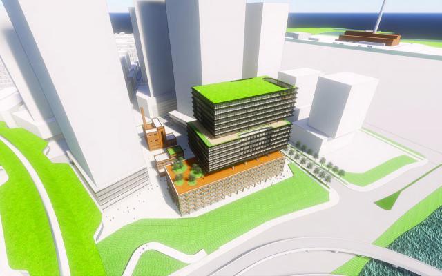East Harbour, First Gulf, KPMB, Henning Larsen, Urban Strategies, Toronto