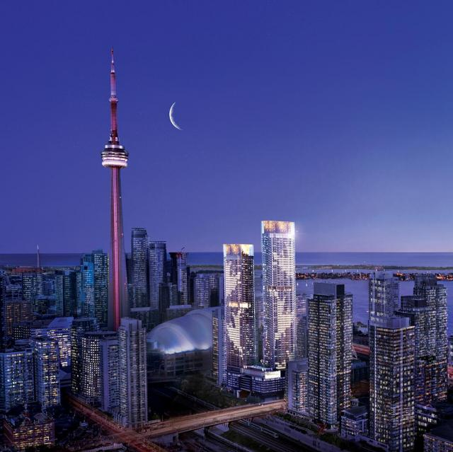 Concord Canada House, CityPlace, IBI Group, Toronto
