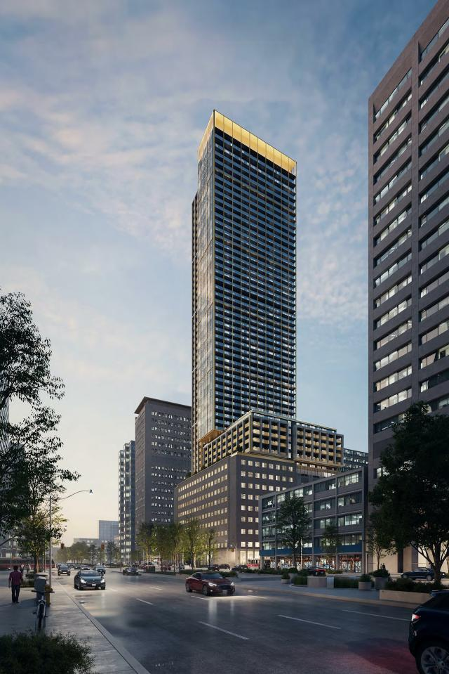 481 University, B+H Architects, Toronto