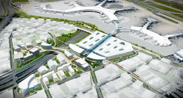 Toronto Pearson International Airport Transit Terminal