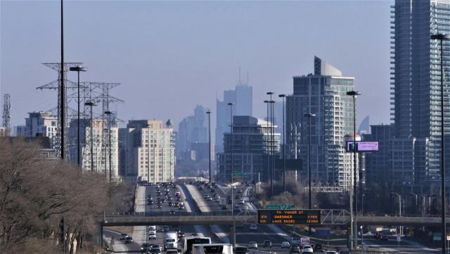Photo of the Day, Toronto skyline, Gardiner Expressway