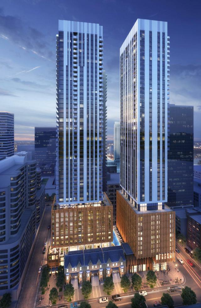 Theatre District Residence, Plaza, Quadrangle, Toronto