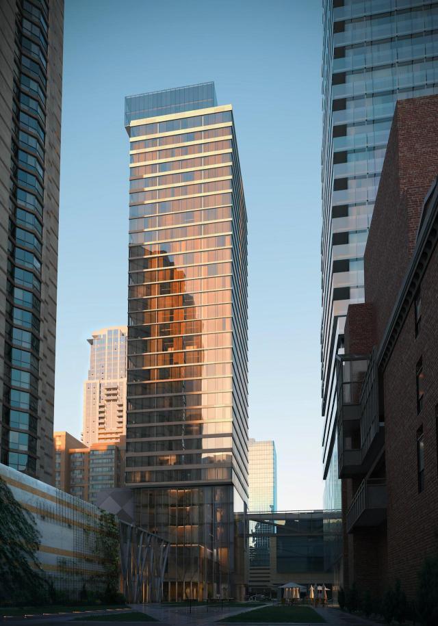 Chelsea Green, Great Eagle, architectsAlliance, Toronto