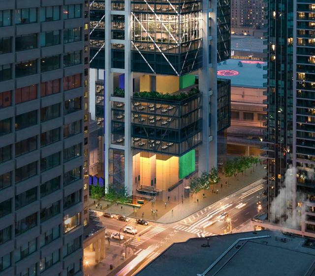 The HUB, Oxford, Rogers Stirk Harbour + Partners, Toronto