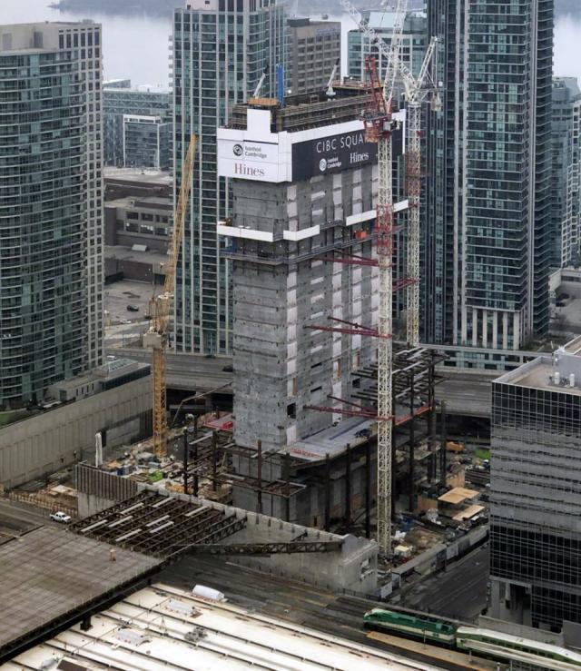 CIBC Square, Ivanhoé Cambridge, Hines, WilkinsonEyre, Adamson, Toronto
