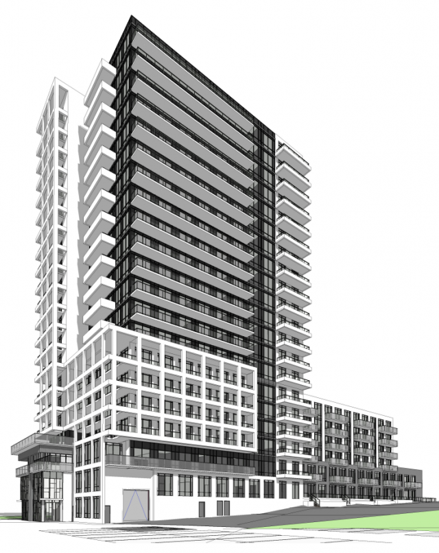 1C Richview Road, Etobicoke, Toronto, designed by Kirkor Archtects & Planners