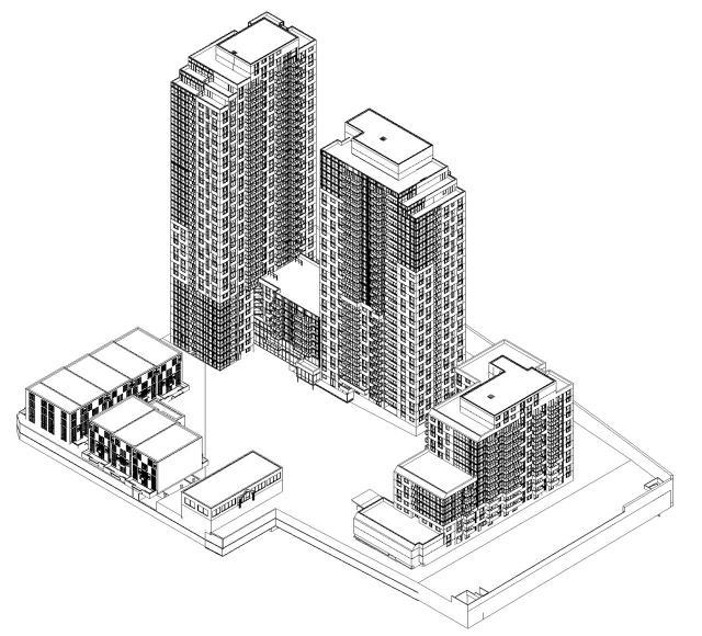 980 Lansdowne, Toronto, designed by Gabriel Bodor Architect for Neudorfer