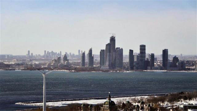 Photo of the Day, Toronto, skyline, Humber Bay Shores, Mississauga