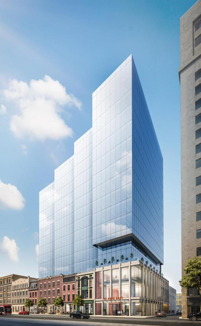 65 King Street East, Toronto, Carttera, WZMH Architects, IBI Group