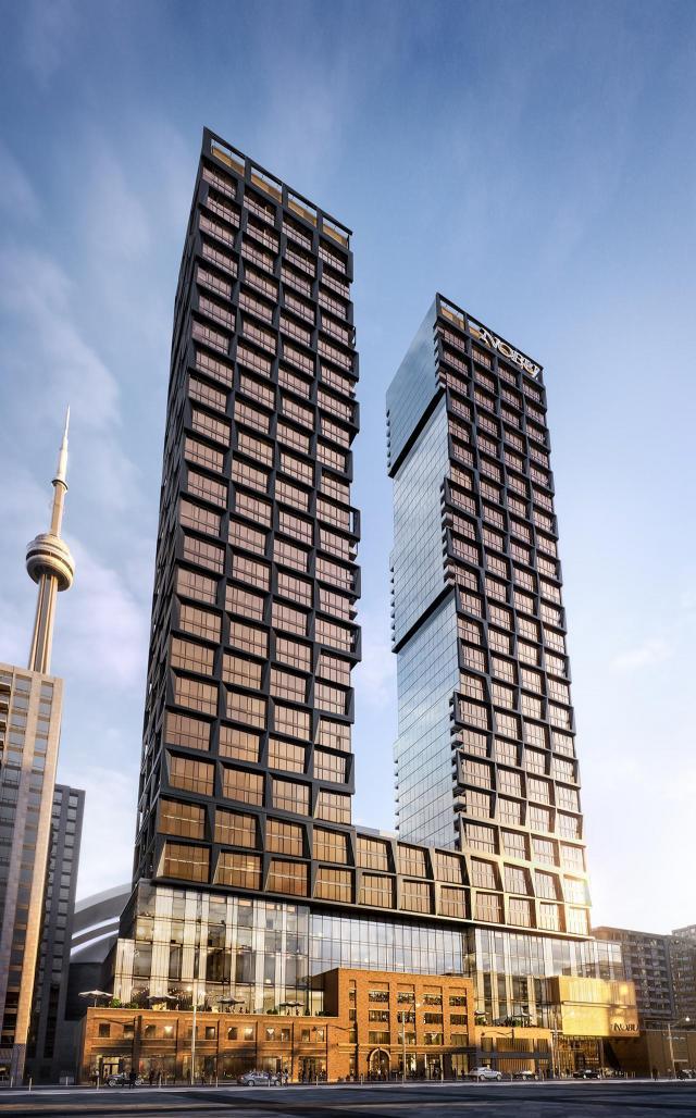 Nobu Residences Toronto, Madison Group, Westdale, Teeple Architects, Toronto