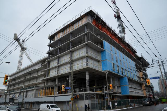 CAMH, Queen Street, PCL Canada, Stantec