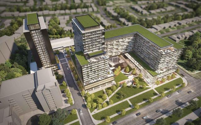 Richview Square, Toronto, Trinity, CreateTO, Core Architects